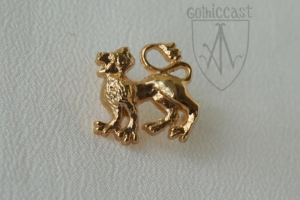 Marching lion mount 1340-1500 A.D.