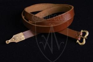 Flemish medieval belt, replica