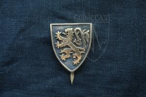 Heraldic lion badge 13-15 th century
