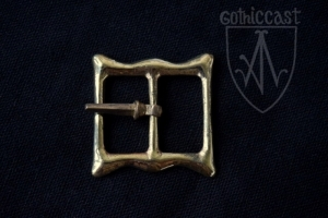 Square double-loop buckle 1300-1500 A.D.
