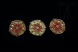 Rose mounts for belt 1360-1500 A.D.