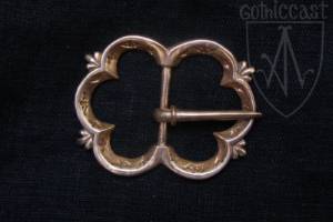 "The ""Swan Lake"" Buckle, 14-15 c., London"