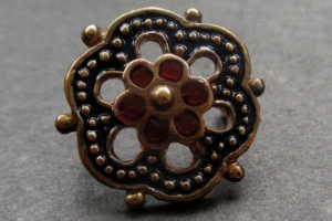 Siena flower belt mount 1340-1500 A.D.