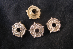 Rose eyelet belt mounts 1360-1500 A.D.