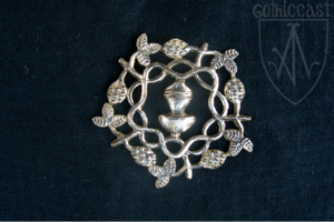 Braiding Branches Badge 14-15th century