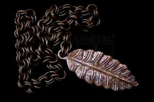 """Leaf"" girdle pendant 14-15th century"
