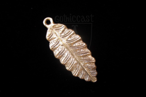 """Leaf"" girdle pendant 14-15th century"