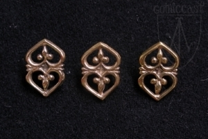 Heart belt mounts 1360-1500 A.D.