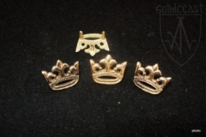 Crown Belt mounts 1360-1500 A.D.
