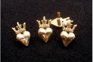 Сrowned Heart Belt mounts 1360-1500 A.D.
