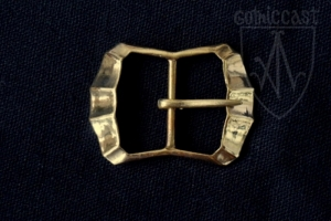 Four edge double-loop buckle 1300-1500 A.D.