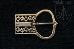 Swedish Buckle and Ending 14-15 c