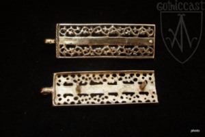 Belt Buckle and Ending 14-15 c. Western Europe