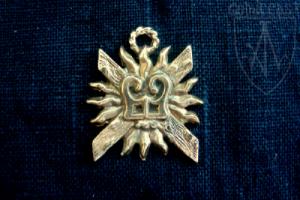 Dukes of Burgundy Badge, 14-15th centuries
