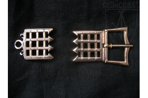 Grille Medieval girdle set of 14-15th century