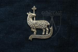 Lamb Badge 14 -15 centuries. Medieval Europe