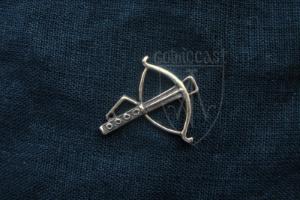 Crossbow Badge 14 -15 centuries