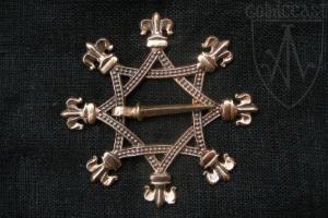 Octagonal brooch 14-15th century