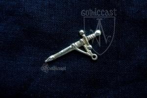 Sword Badge 14 -15 centuries. Western Europe